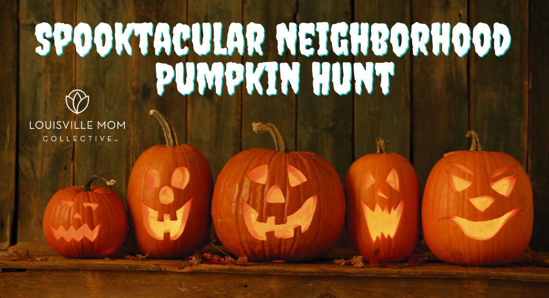 louisville spooktacular pumpkin hunt